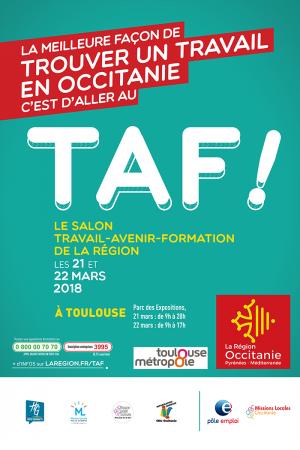 Salon taf de toulouse 21 et 22 mars 2018 expertrh for Salon formation toulouse